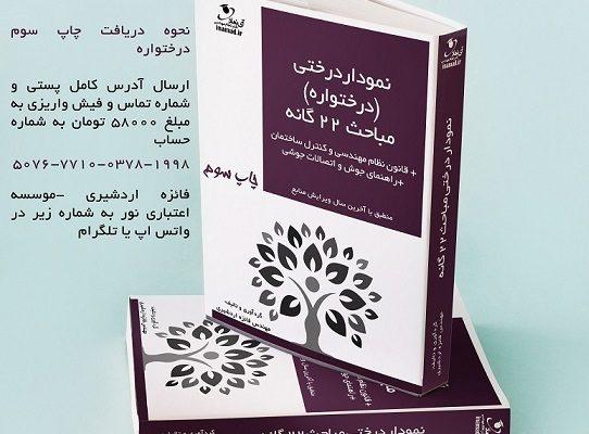 انتشار کتاب نمودار درختی (درختواره مباحث ۲۲ گانه) -                                Copy 542x400 - کتاب نمودار درختی (درختواره مباحث ۲۲ گانه)